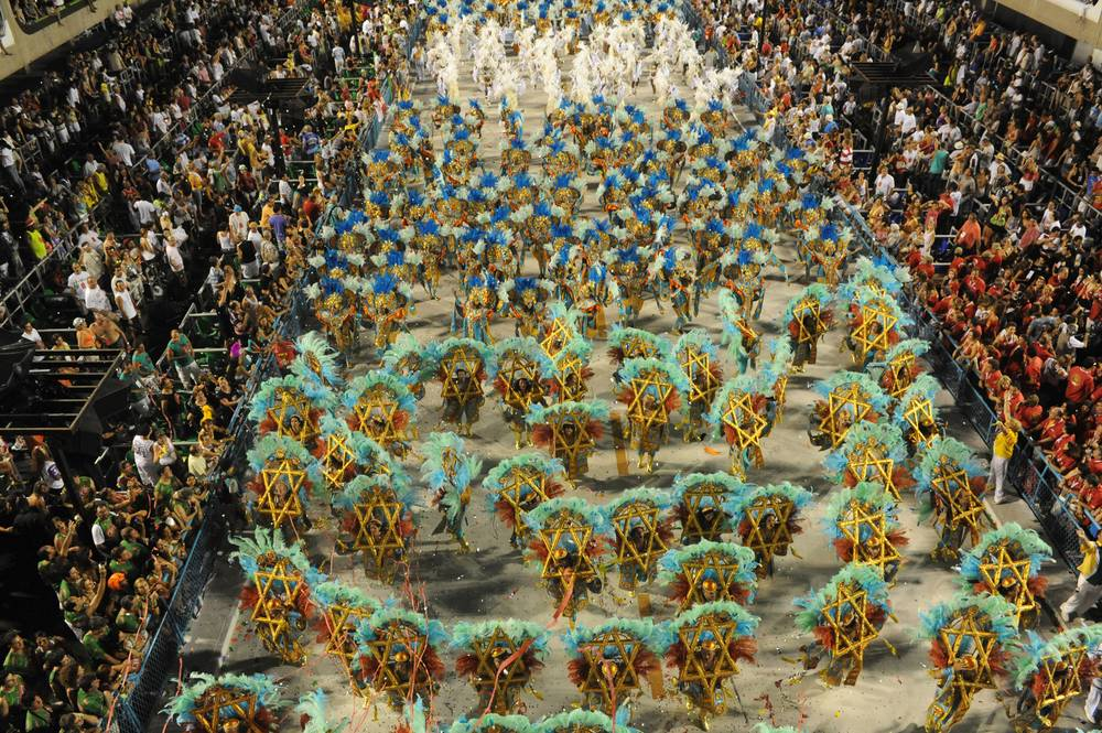 הקרנבל הגדול בריו, צילום: עוזי משלי