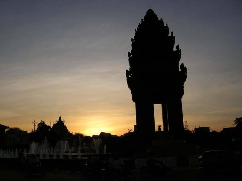 שקיעה קמבודית