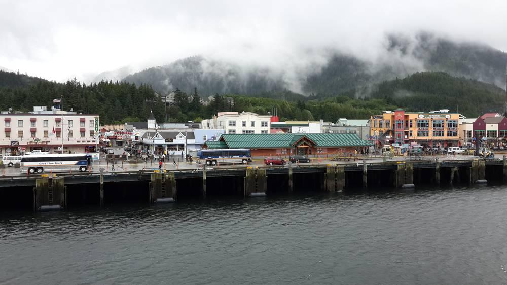 העיר קצ'יקן באלסקה, צילום: אלי גביש