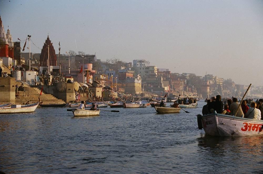 נהר הגנגס - הודו קרדיט תמונה: צחי פלג