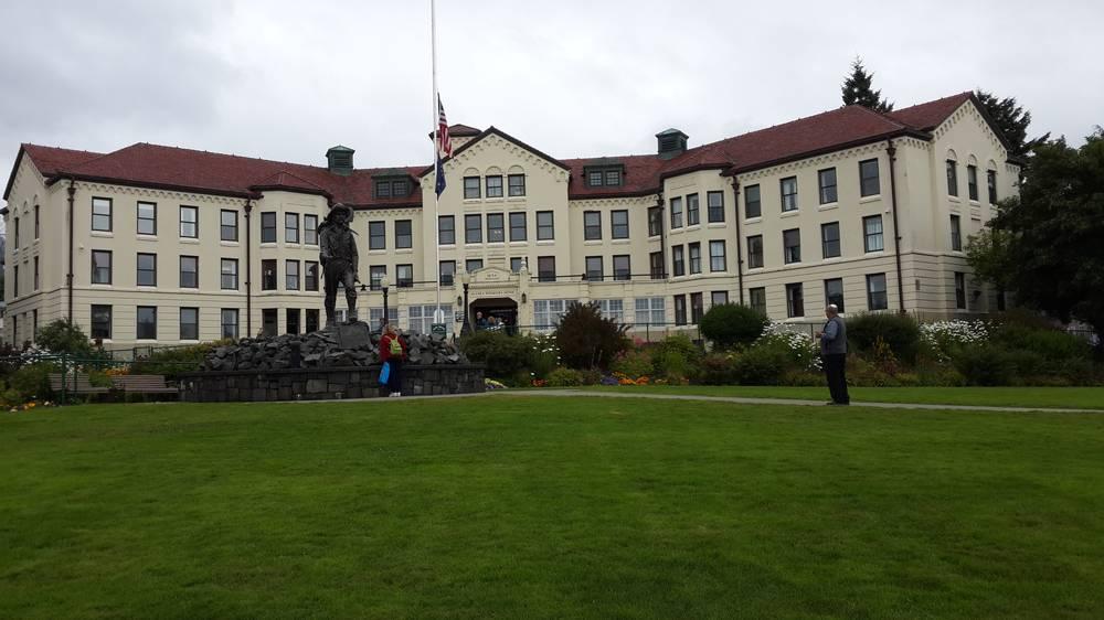 מוזיאון בג'ונו - אלסקה, צילום: אלי גביש ALASKA PIONEERS HOME